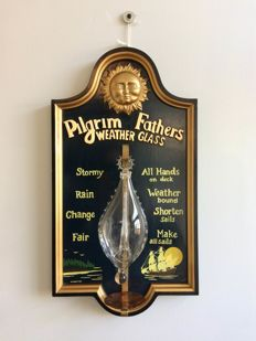 Pilgrim Fathers 'weather glass'