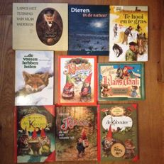 Rien Poortvliet; Lot with 9 books illustrated by him - 1976 / 2005