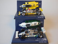 Minichamps - Scale 1/43 - Lot with 2 x Williams Ford