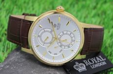 Royal London – Men's Gold Plated Watch – unworn