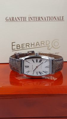 Eberhard & Co. – HYPERBOLE 41 x 30 mm STEEL/CROCODILE FULL SET – Women's – 1990-1999