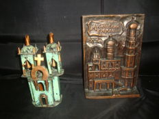 2 Churches Copper and Ceramic