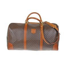 Celine - Macadam Boston 50 vintage travel bag with carrying strap *No Minimum Price*