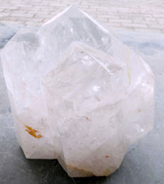 Beautiful rock-crystal point - 250 x 280 x 110 mm - 12.8 kg