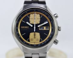 "Seiko ""John Player"" 6138-8030 Chronograph Automatic Men's Wrist Watch - circa 1970s"