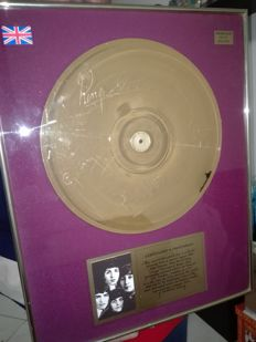 The Beatles gold disc No 0101