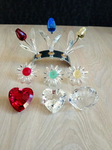 Lot of 9 Swarovski items.