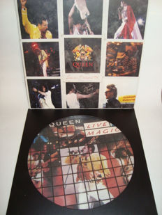 Queen Live! Live in Budapest '86 (2xLP) + Live Magic (Picture Disc)