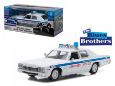 The Blues Brothers - Greenlight - Scale 1/24 - Dodge Monaco Chicago Police 1975