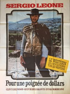 Anonymous - Pour une poignée de dollars / A fistful of dollars (Clint Eastwood) - circa 1970