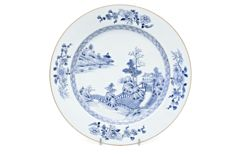 Chinese plate from the 18th century