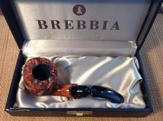 Brebbia Collection free hand pipe, original box, great pipe!!