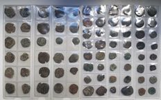 Spain - Lot of 78 Coins from Spanish Colonies of the House of Austria, 1500-1700 A.D. - Europe