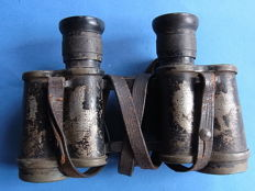 Service Glass Binoculars Carl Zeiss Jena World War I