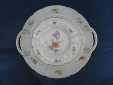 Rosenthal - Pastry set with roses, Sanssouci