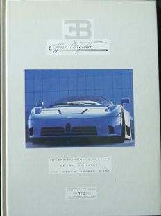 Bugatti Journal German Edition 5 parts