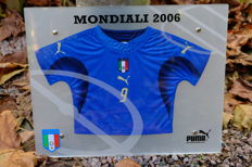Italian soccer Jersey on scale Puma WORLD CUP 2006
