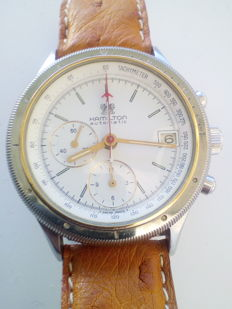 Hamilton - Automatic Chronograph verry rare (omega 1040 hour) - 667 - Men