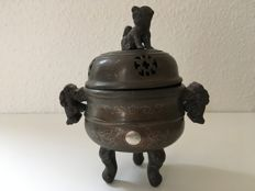 Bronze incense burner - China - early 20th century (or older?)