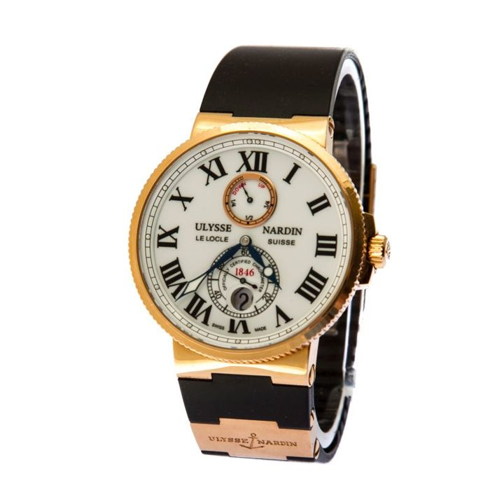 Ulysse Nardin - Marine Chronometer 43 mm gold new 23900 euro - 266-67 - Heren - 2011-heden