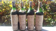 Marques de Riscal; 1947, 1965, 1971 & 1974 - 4 bottles