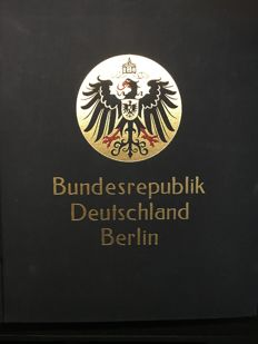 Germany, Berlin and GDR 1940/1990 - Collection in 3 Albums