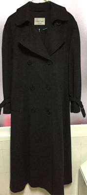 Olivier Strelli - women's coat, double breasted Austrian type trench coat