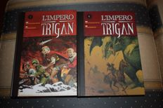 L'impero Trigan - 9x volumes - complete series - hardcover edition (2010-15)