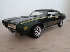 Ertl - Scale 1/18 - Pontiac GTO Judge 1969 - Green