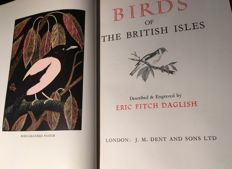Eric Fitch Daglish - Birds of the British Isles - 1948