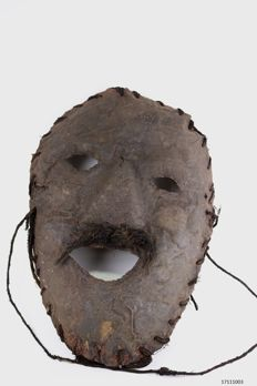 Mask of leather - Nepal - 2nd half 20th century