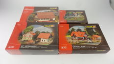 Faller H0 - 190269/190124/190121/130549 - A collection of 4 building kits with country themes
