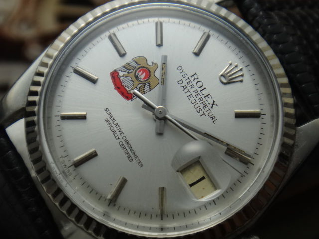 1966 Rolex Automatic - Oyster Perpetual Datejust - 1601 - Mens Watch
