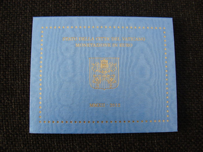"Vatican – Year collection 2012 ""Benedict XVI"""