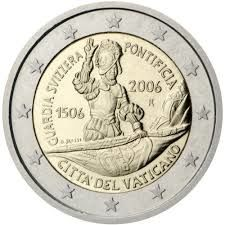 Vatican - 2 Euro coin 2006 '500 years Swiss Guard'