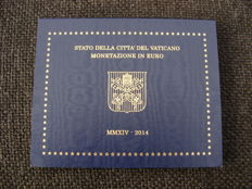 """Vatican - year pack/ year collection 2014, """"Franciscus I""""."""