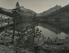 Cedric Wright (1889-1959) - Untitled, lake in California c. 1940's