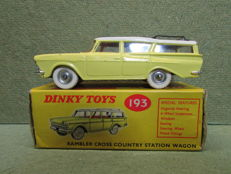 Dinky Toys - Scale 1/48 - Rambler Cross Country Station Wagon No.193