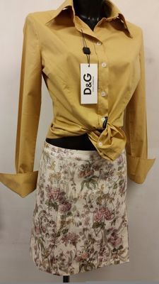 Dolce & Gabbana - blouse and skirt - Made in Italy