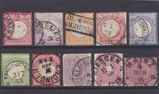 Germany 1872/1949 - German Empire , Reich and Occupations - a selection plus 3 covers and 1 postcard