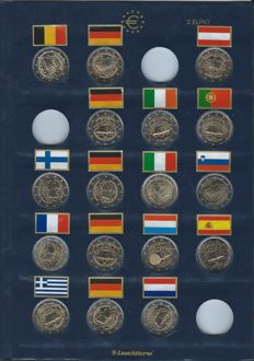 Europe - 2 euro 2007 'Treaty of Rome' from 13 countries (17 coins in total)
