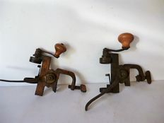 Lot of two old cartouche fillers - ca 1880 - Liege - Belgium