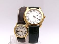 Pierre Cardin - Pair of men's and women's watches - 1990 - 1999 - Brand new - With box
