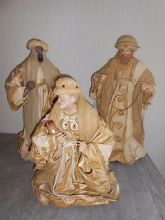 Handmade Christmas figures - Three Kings