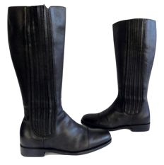 Hugo Boss - high leather boots