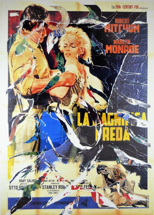 Mimmo Rotella - La Magnifica preda ( The Beautiful Prey)