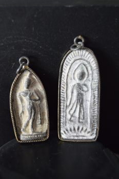 Lot of two amulets - Thailand - circa 1910