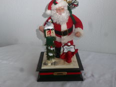 Beautiful music box with Santa Claus
