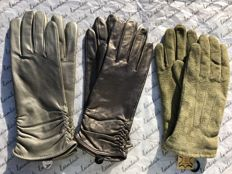 Laimböck, 3 pairs of women's gloves