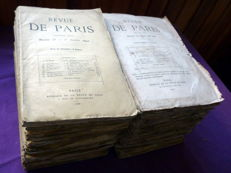 Collective - Revue de Paris - 38 issues - 1868/1869